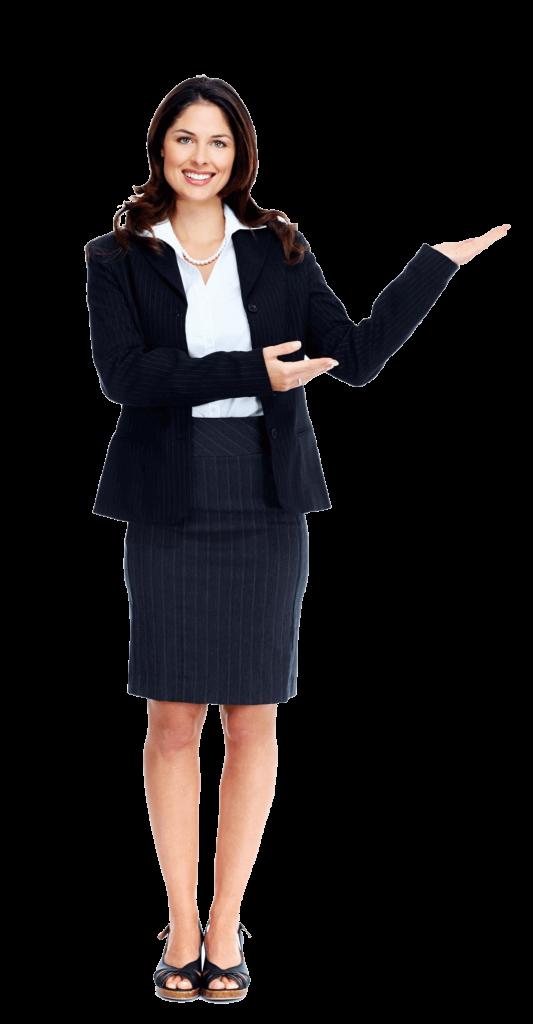 msibisnisku-woman presenting